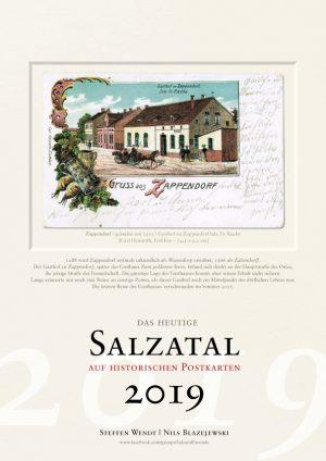 Salzatal auf historischen Postkarten 2019