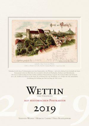 Wettin auf historischen Postkarten 2019