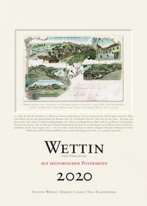 Wettin auf historischen Postkarten 2020